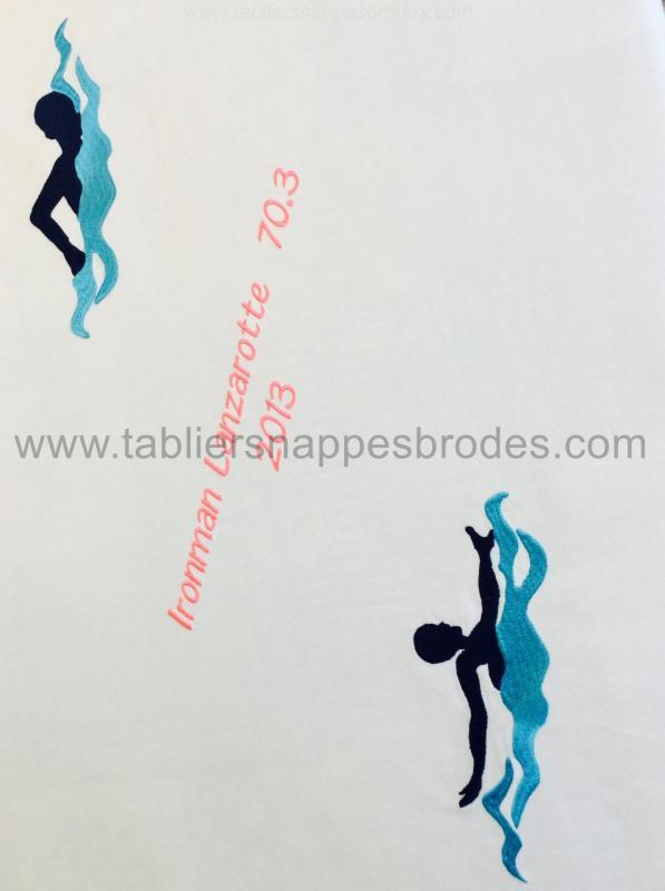 A nappe sportve nageurs