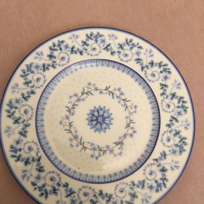 Assiette bleue copier