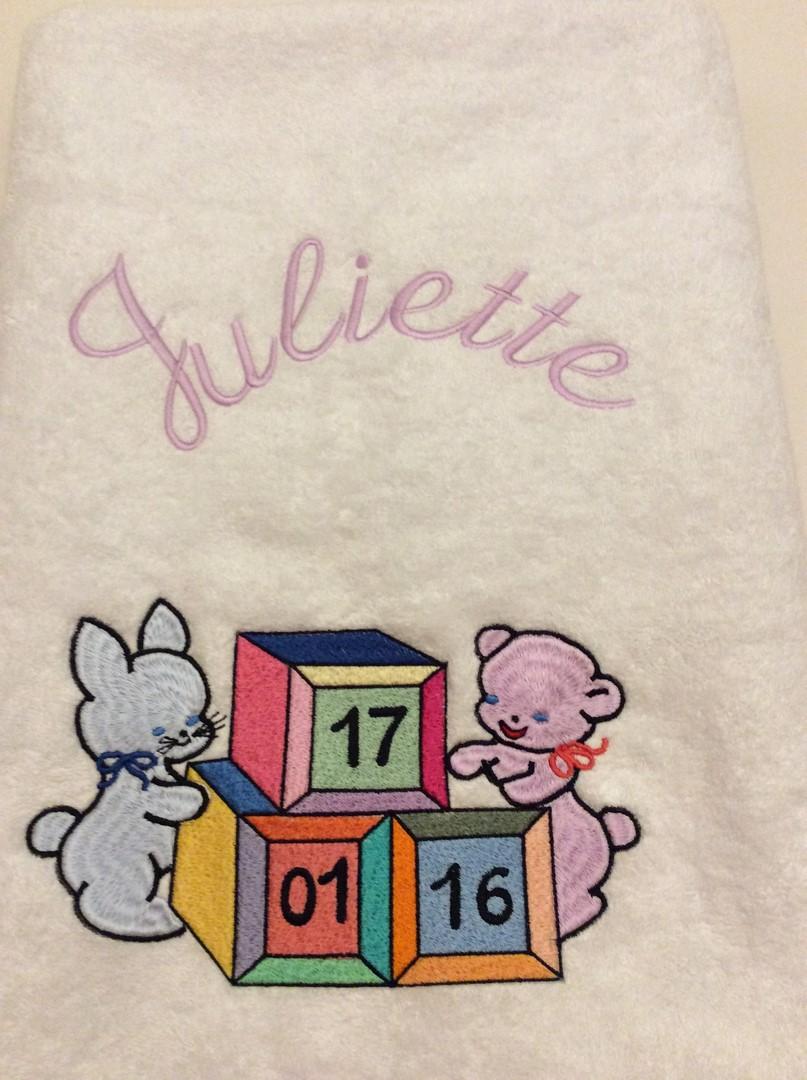 Juliette serviete