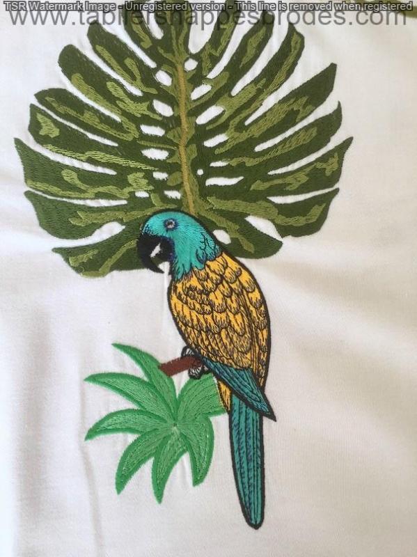 Oiseau et feuillage ok